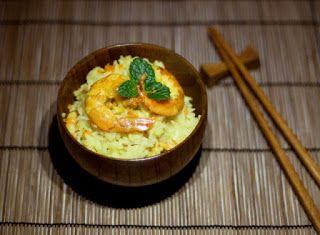 Cucinare che Passione: Riso al cocco con gamberi marinati allo zenzero