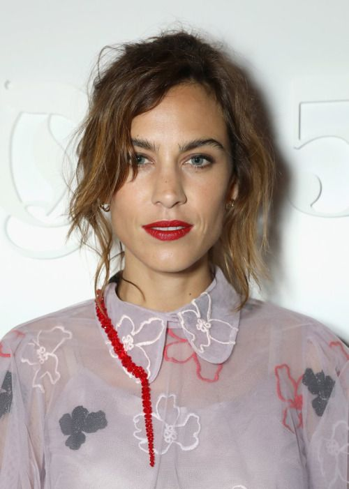 Alexa Chung attends the Business of Fashion #BoF500 Gala Dinner at The London EDITION | September 19, 2016