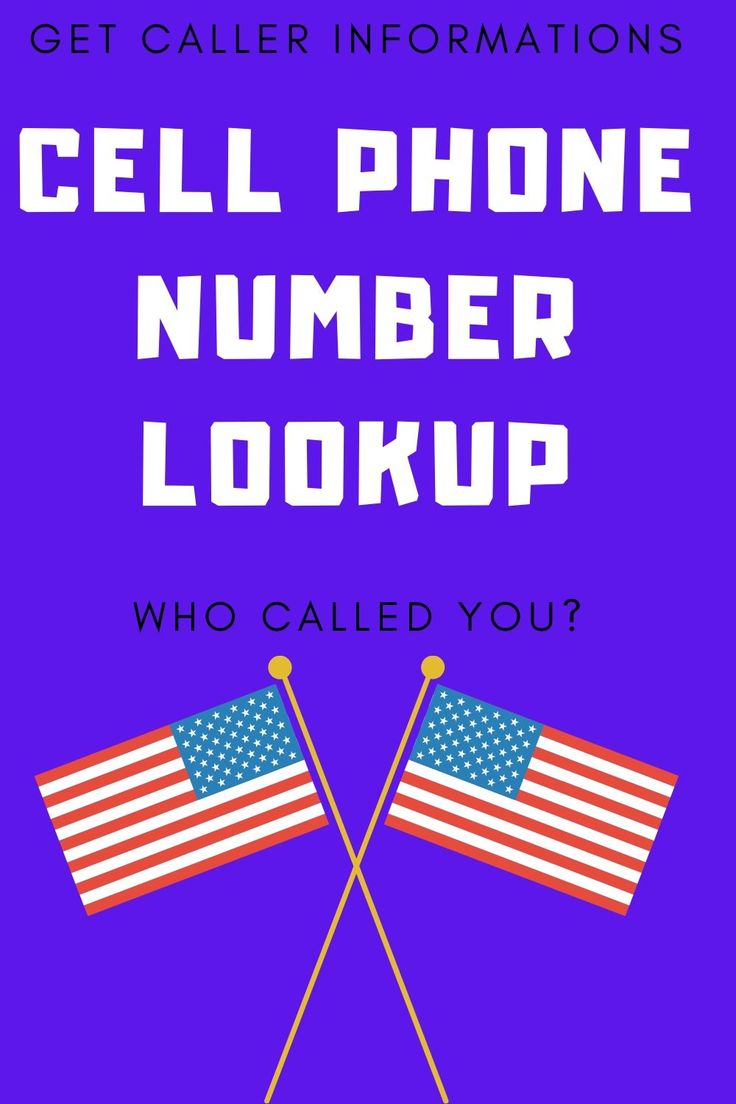 This cellphone number lookup works for all USA numbers. If ...