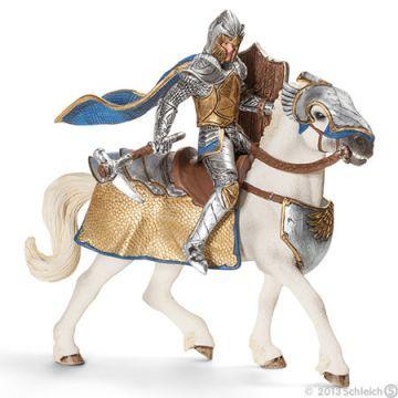 Schleich Baltalı Şövalye At Üzerinde 70108