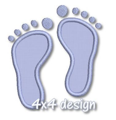 See It All - Baby Feet Applique & Mini 4x4 5x7 6x10 March of Dimes - Welcome to Lynnie Pinnie.com! Instant download and free applique machine embroidery designs in PES, HUS, JEF, DST, EXP, VIP, XXX AND ART formats.