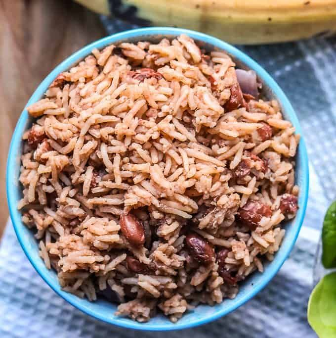 Instant Pot Haitian Rice And Beans Recipe Haitian Food Recipes Bean Recipes Haitian Rice Recipe
