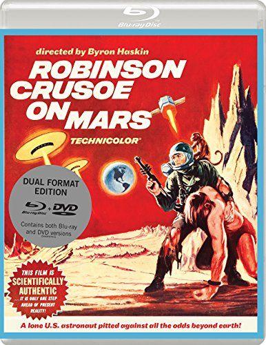 From 8.00 Robinson Crusoe On Mars (1964) Dual Format (blu-ray & Dvd)
