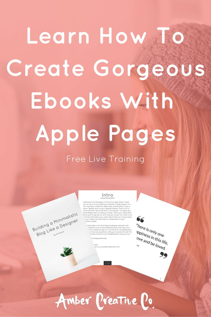 1055 best create ebooks tips tricks images on pinterest tips do you want to learn how to create gorgeous ebooks with apple pages this is the live training you dont want to miss come join us thursday the of april at fandeluxe Gallery