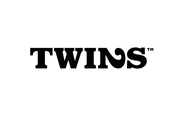 logo for creative team Twins Communications, designed by Oslo-based Action Designer