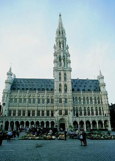 37 best images about hotel de ville stadhuis city hall - Office de tourisme bruxelles grand place ...