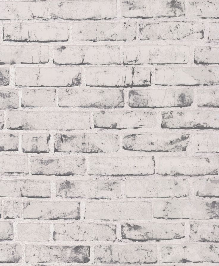 Rustic Brick Grey wallpaper by Albany