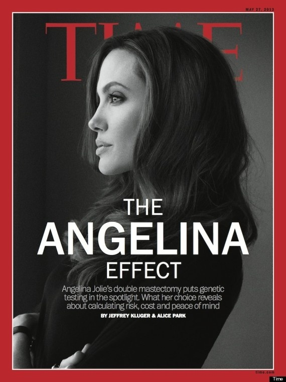 Angelina Jolie Time Cover: Will Actress Transform Womens Health?