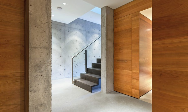 Battersby Howat modern house architectureBattersbyhowat Architects, Whistler Resident, Battersbi Howat, Modern Architecture, Interiors Design, House Architecture, Modern House, Concrete Wood, Wood Stairs