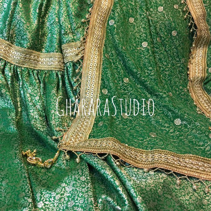 Gharara in Green !!!   #gharara #ghararastudio #ghararastudiobyshazia #redgharara #bridalgharara #bridal #wedding #weddingdress #kamkhawab #kimkhaab #chiffon #georgette #fashion #fashionstyle #instafashion #fashiongram #fashiondiaries #blog #blogger #fashionblogger #indianfashion #indiandress #ethnic #traditional #delhi #royal #greengharara #designergharara #partygharara