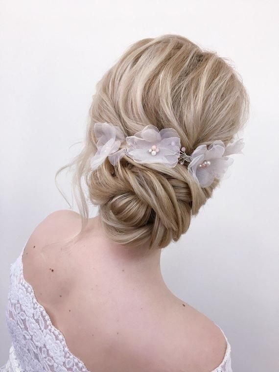 Bridal Hair Vine, Wedding Hair Vine, Rustic Wedding Headpiece, Wedding Headband Flowers