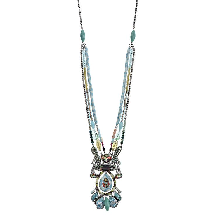 Aqua Elegance Necklace | Ayala Bar Hip Collection – Winter 2015/16