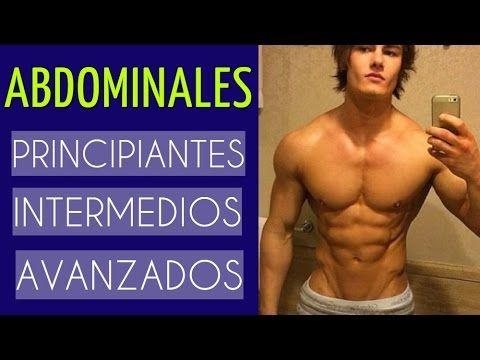 ABDOMINALES para Principiantes, Intermedio y Avanzados - YouTube