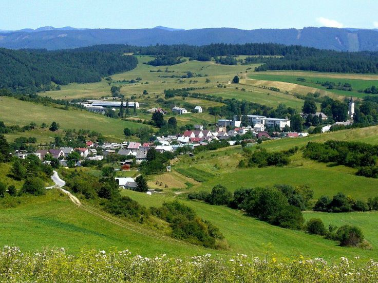 Pružina, view from Chmelisko