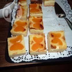 Rezeptbild: Mandarinen Käsekuchen vom Blech