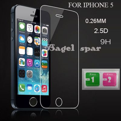 For iPhone 5 s 9H 0.25D Tempered Glass for IPhone 4 5 6 7 Screen Protector for iPhone 6 6 plus Explosion proof Tough Screen Film