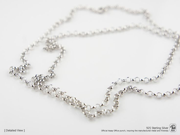 Portuguese Traditional NECKLACE Viana Chain (70cm Length) in 925 Sterling Silver by NadirFiligree on Etsy