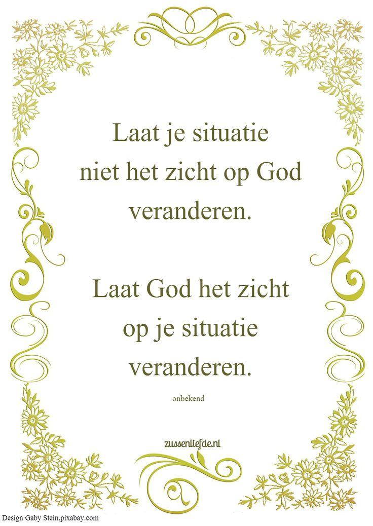 Kijk naar God