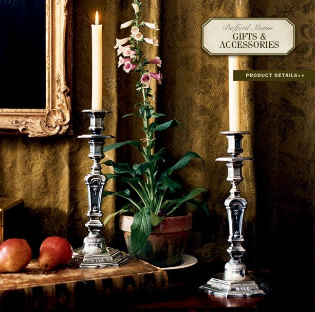 Ralph Lauren Home Bedford Manor Collection 14 Candle Sticks Ralph Lauren Home Pinterest