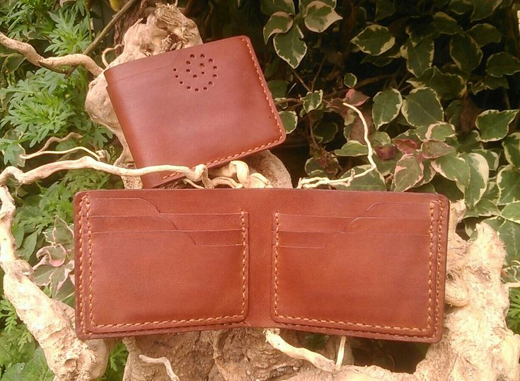 #leatherwallet #handmade