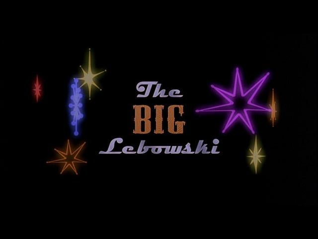The Big Lewbowski: Receptions Decor, Title Cards, Film Exploradores, Bowls Stars, Big Lewbowski