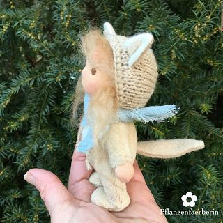 Pflanzenfaerberin * Isle of Fae * Mini Wolf Doll
