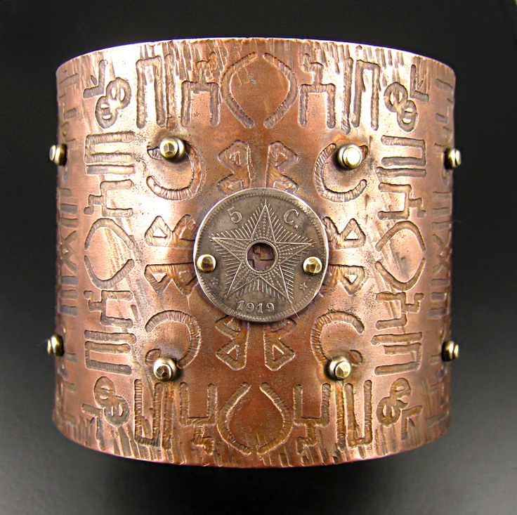 New Cuff..this is etched copper