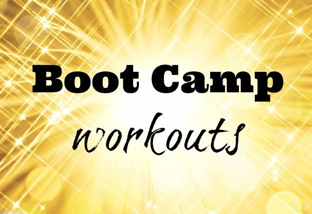 Giant Collection of BOOT CAMP WORKOUTS!