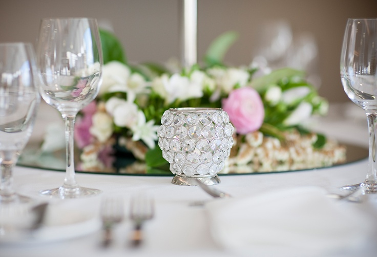 #freshflowers #tealights #weddingreception