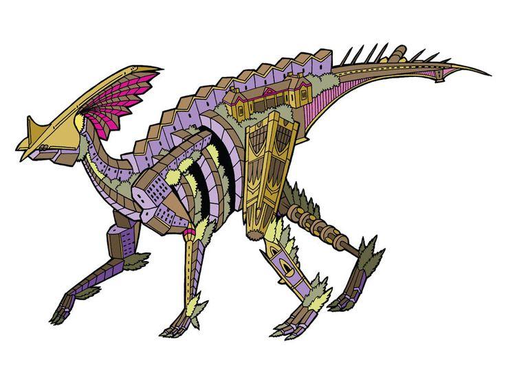 2013 DinoZoo print