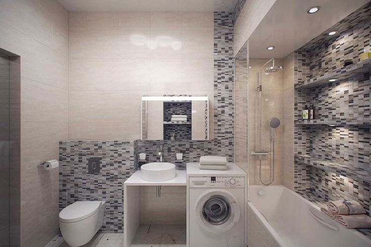 встроенная стиральная машина в ванной - Пошук Google
