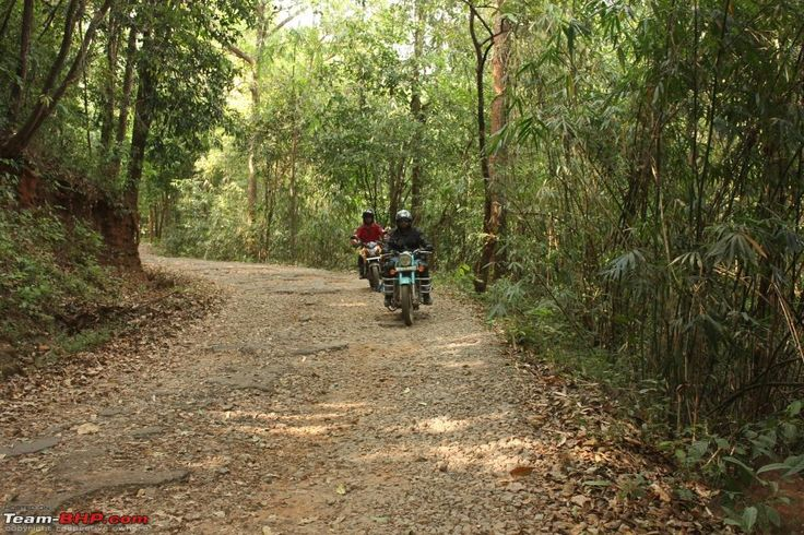 Do a bike trip in South India