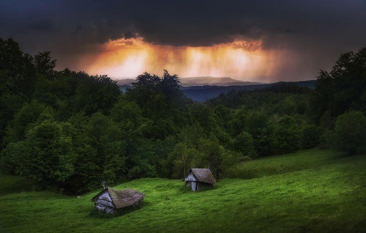Summer storm by Cezar Machidon on 500px