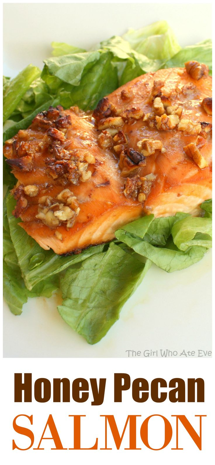 Honey Pecan Salmon - healthy and delicious! the-girl-who-ate-everything.comPecan Salmon - healthy and delicious! the-girl-who-ate-everything.com