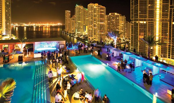 Area 31 Brickell Epic Hotel Happy Hour Monday And