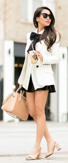 Structured Blazer Inspiration Outfit by Wendy's Lookbook