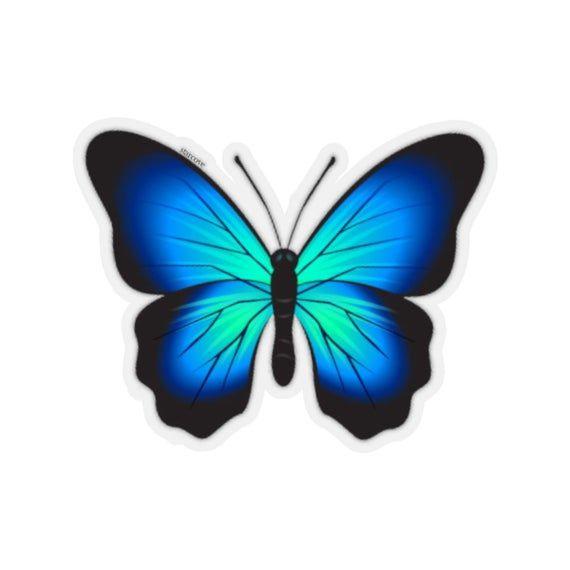 Butterfly Funny Cute Auto Car Sticker Vinyl Decals Waterproof Tablet Laptop 6x
