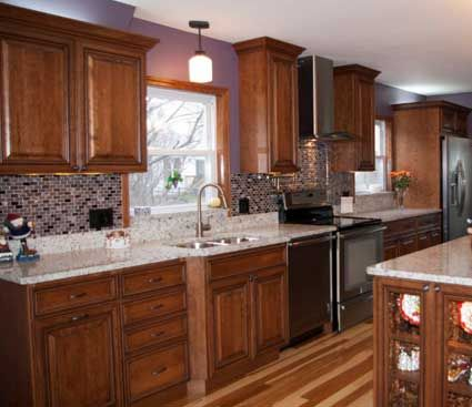 Kitchen Remodel In Naperville, IL. Designed By CRS Designs Inc.. Fieldstone  Cabinetry