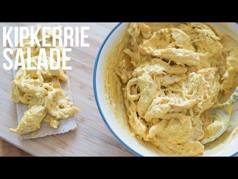 Kipkerrie salade - OhMyFoodness - YouTube