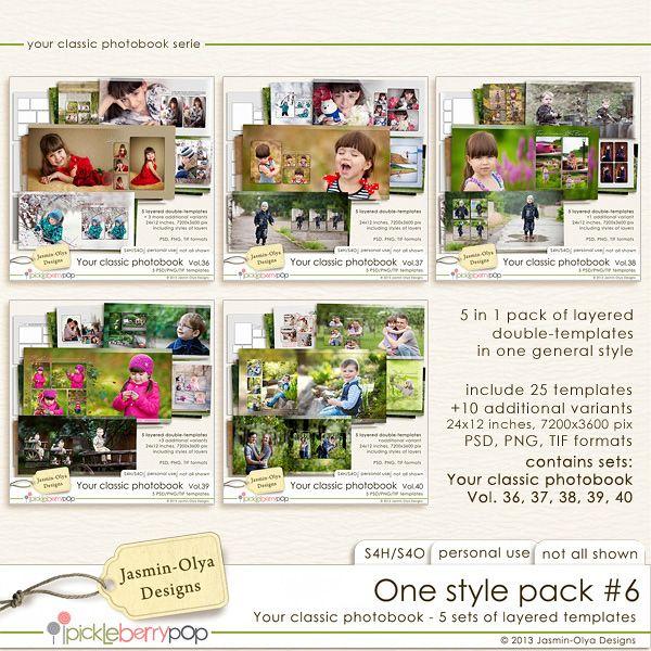 One style pack #6 (Jasmin-Olya Designs)
