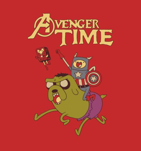 It's Avenger Time! [T-Shirt] | @Brandi Brown: In case you haven had enough Adventure Time...