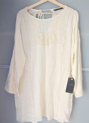Kup mój przedmiot na #vintedpl http://www.vinted.pl/damska-odziez/krotkie-sukienki/14328267-zarasukienka-boho-zwiewna-haftowana-koronka-m