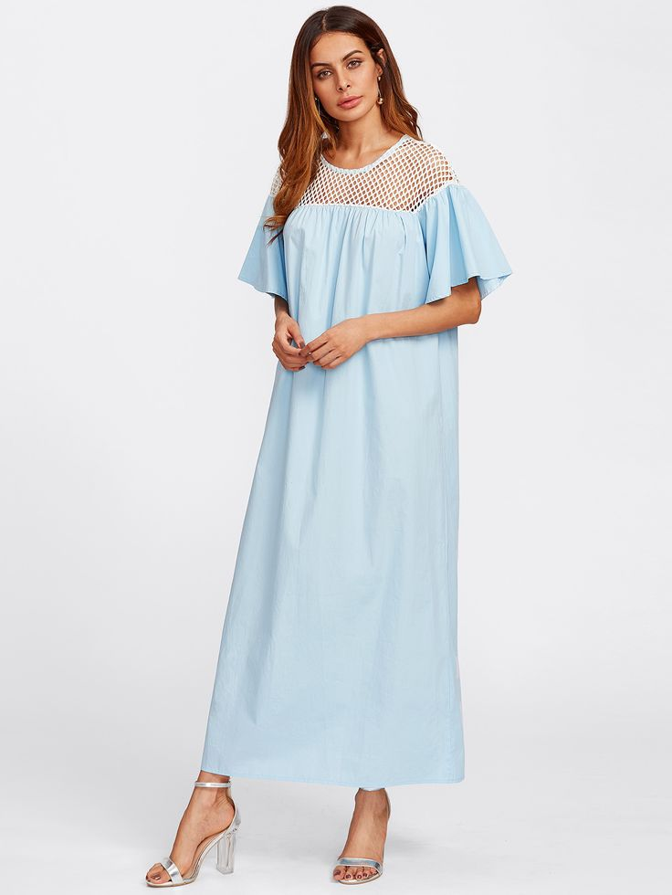 Robe bicolore voir à travers -French SheIn(Sheinside)