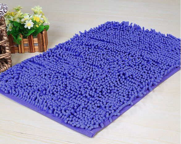 Floor Mat 60*40cm/50*80cm Soft Big Carpets for Bedroom strip Bedside/strip/non-slip White/brown/green/pink/gray