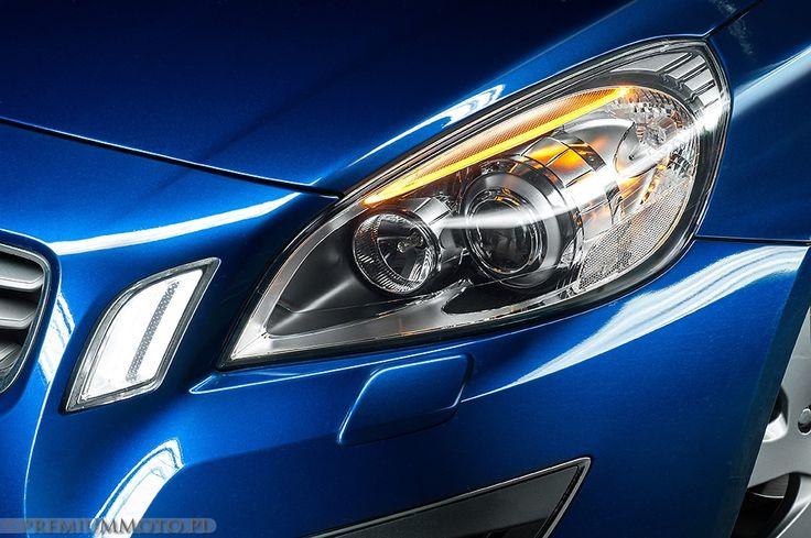 Volvo V60 Ocean Race front light  #volvo #v60 #light #detail more: http://premiummoto.pl/04/07/volvo-v60-d3-ocean-race-nasza-sesja