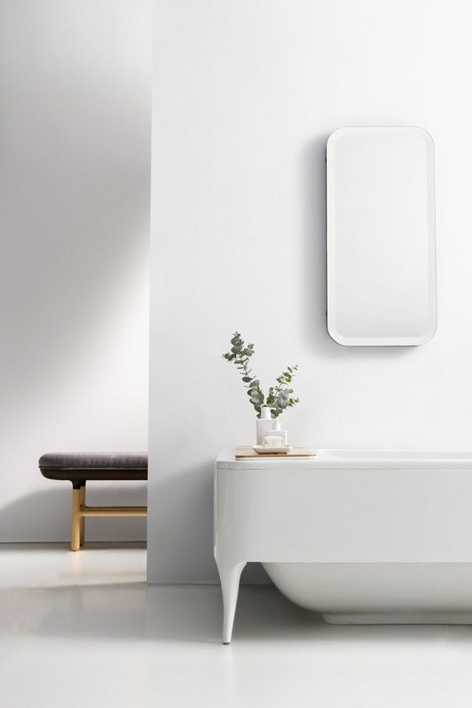 bathtub -   Bisazza Bagno  The collection recalls the glamour of the 1930s with a Scandinavian touch and feminine shapes.  Designed by Jaime Hayon Studios.