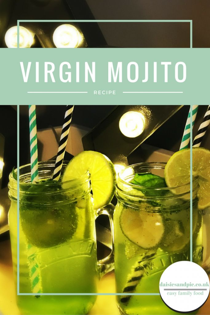 Thirst-quenching non-alcoholic mojito a delicious non-alcoholic Christmas cocktail party recipe | Daisies & Pie