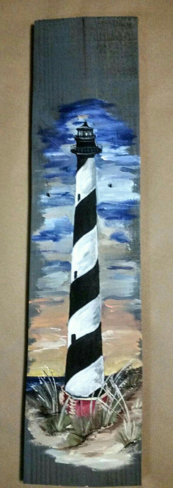 Lighthouse decor for bathroom - Painting For Mommom