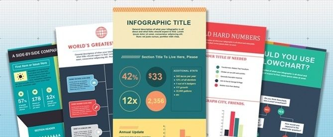 How to Make an Infographic in Under an Hour [15 Free Infographic Templates]  - http://helenowen.org/how-to-make-an-infographic-in-under-an-hour-15-free-infographic-templates/