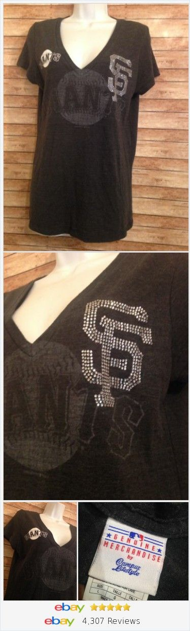 san francisco giants rhinestone shirt Size L  | eBay #sanfranciscogiants #baseball #giants #sf